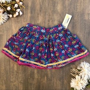 Genuine Kids Toddler Girl's Floral Print Skirt
